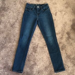 Women's Levi's High Rise Skinny Jeans Size 28x32